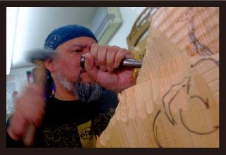 木彫刻家 松並 義孝