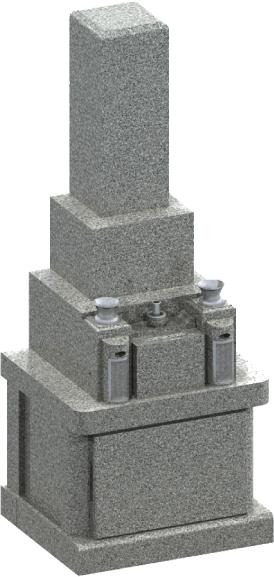 0.52聖地・墓地墓石セット