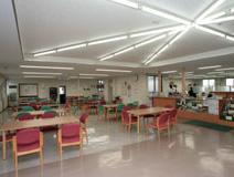 広い休憩室