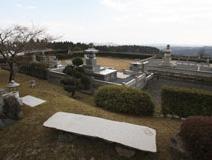 琵琶湖を望む公園