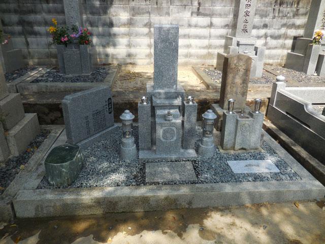 古いお墓 アフター