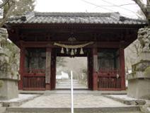 神峯山寺山門