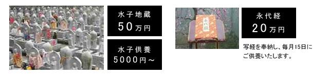 水子供養・永代経