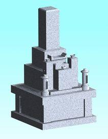 墓地・墓石セット