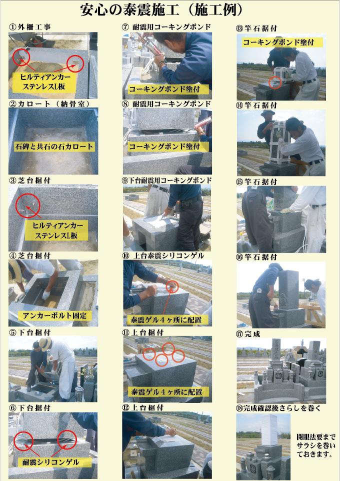 安心の耐震施工例
