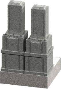 墓地巻石セット