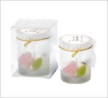 水菓子キャンドル清涼桜