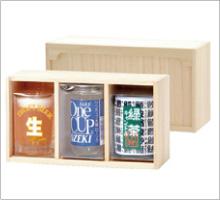 ミニジョッキ・ワンカップ大関・緑茶セット