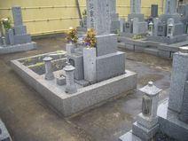 泰聖寺 墓地風景