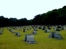 鵯越墓園洋碑地区