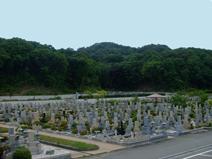 鵯越墓園墓地風景