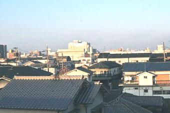 屋上よりの風景