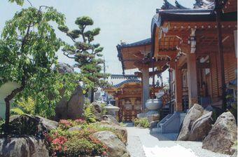 本性寺 庭園