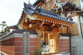 本性寺 北門