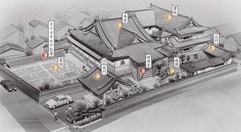 本性寺 境内案内図