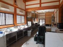 庫裡内部の厨房