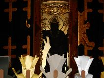 本堂内部の祭壇