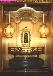 仏壇付納骨壇