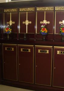 永代供養付仏壇付納骨壇