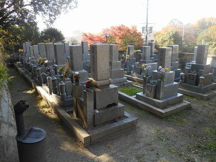 茨木市・浄福寺墓地