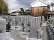 常見寺墓地風景