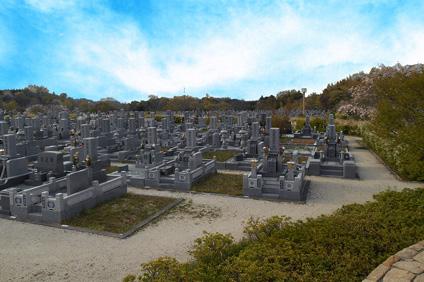 富田林霊園 墓地風景