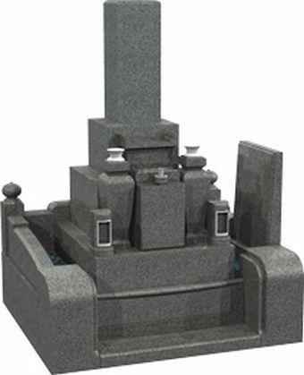 門柱式玉垣 和型8寸