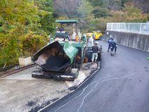 A地区舗装工事完成