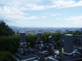 公園墓地の風景
