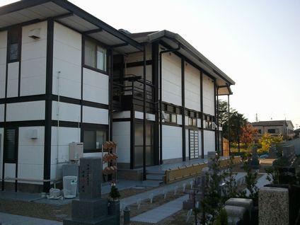 東仙寺墓地風景