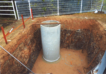ヒューム管埋設工事