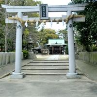 三島鴨神社 鳥居工事
