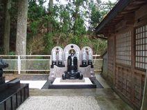 世界平和の鐘と六地蔵完成写真
