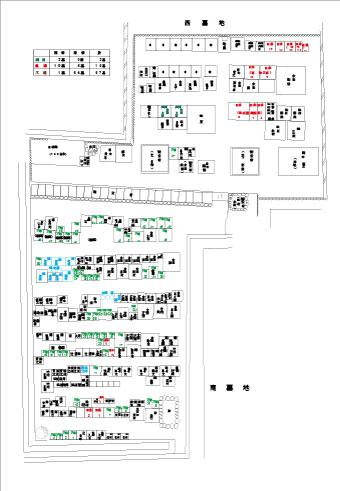 現状区画図面