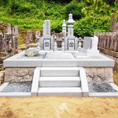真野家墓所改修工事