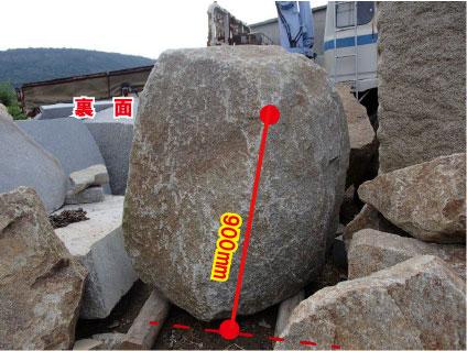 原石の寸法
