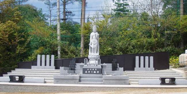 五月山緑地霊園 永代供養墓「見守り観音」