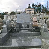 五月山緑地霊園 N家墓所工事