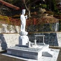 東日本大震災慰霊碑・気仙沼観音寺